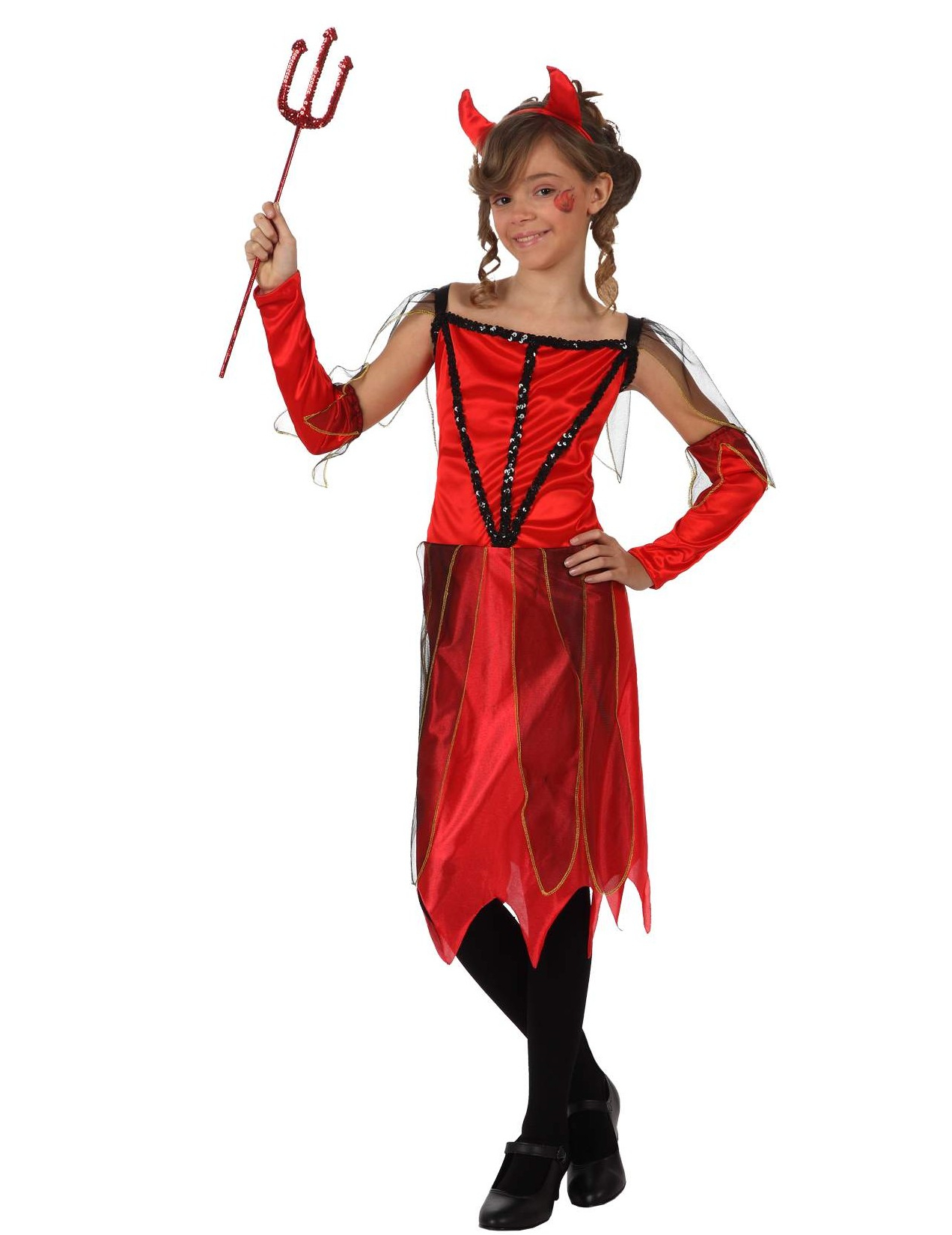 D guisement diablesse fille - Deguisement fille halloween ...