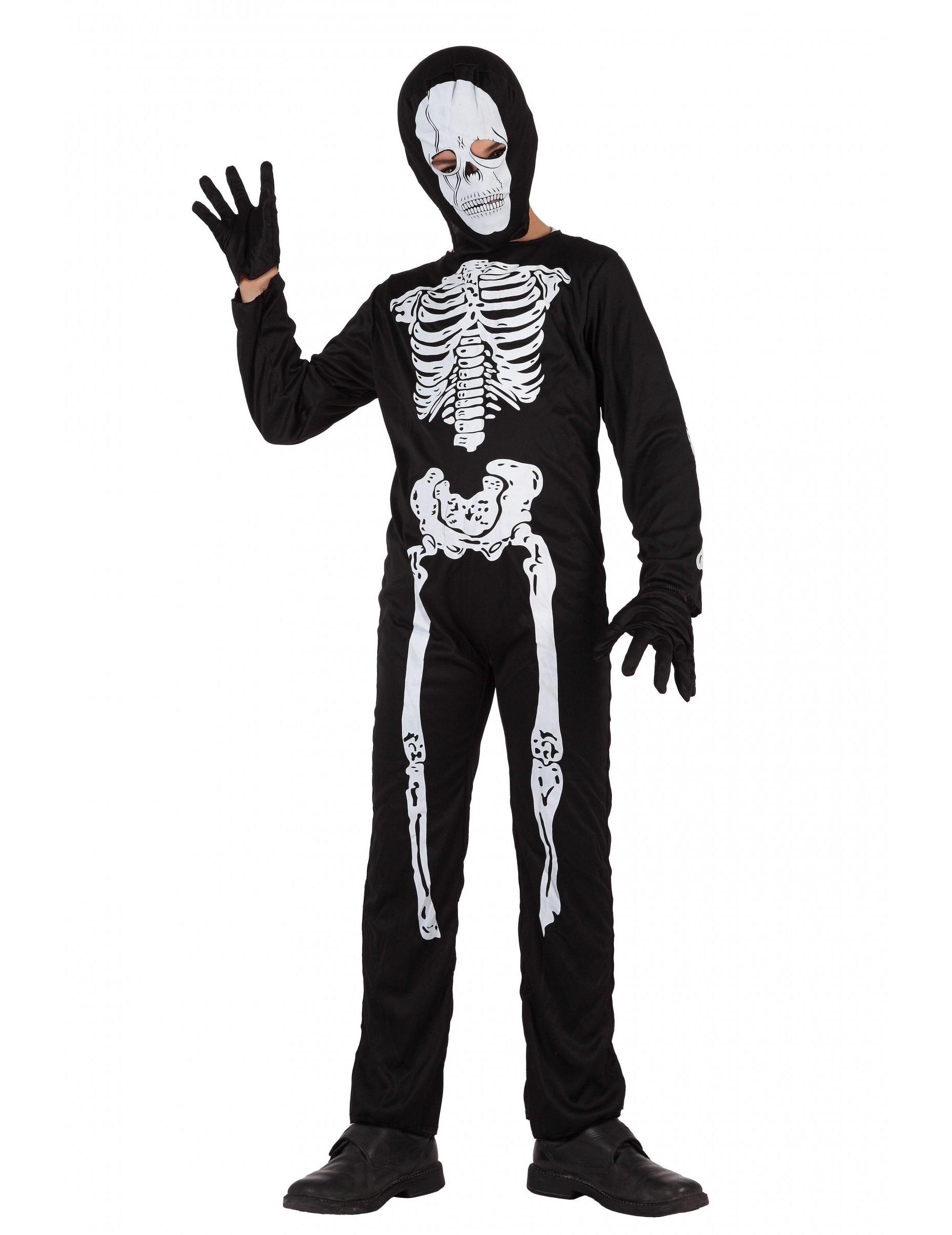disfraz de esqueleto para ni o. Black Bedroom Furniture Sets. Home Design Ideas