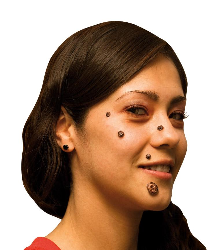 Fausses verrues adulte halloween achat de maquillage sur for Comidee maquillage halloween adulte