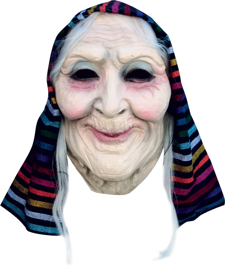 Masque de vieille femme pour adulte - Deguisetoi