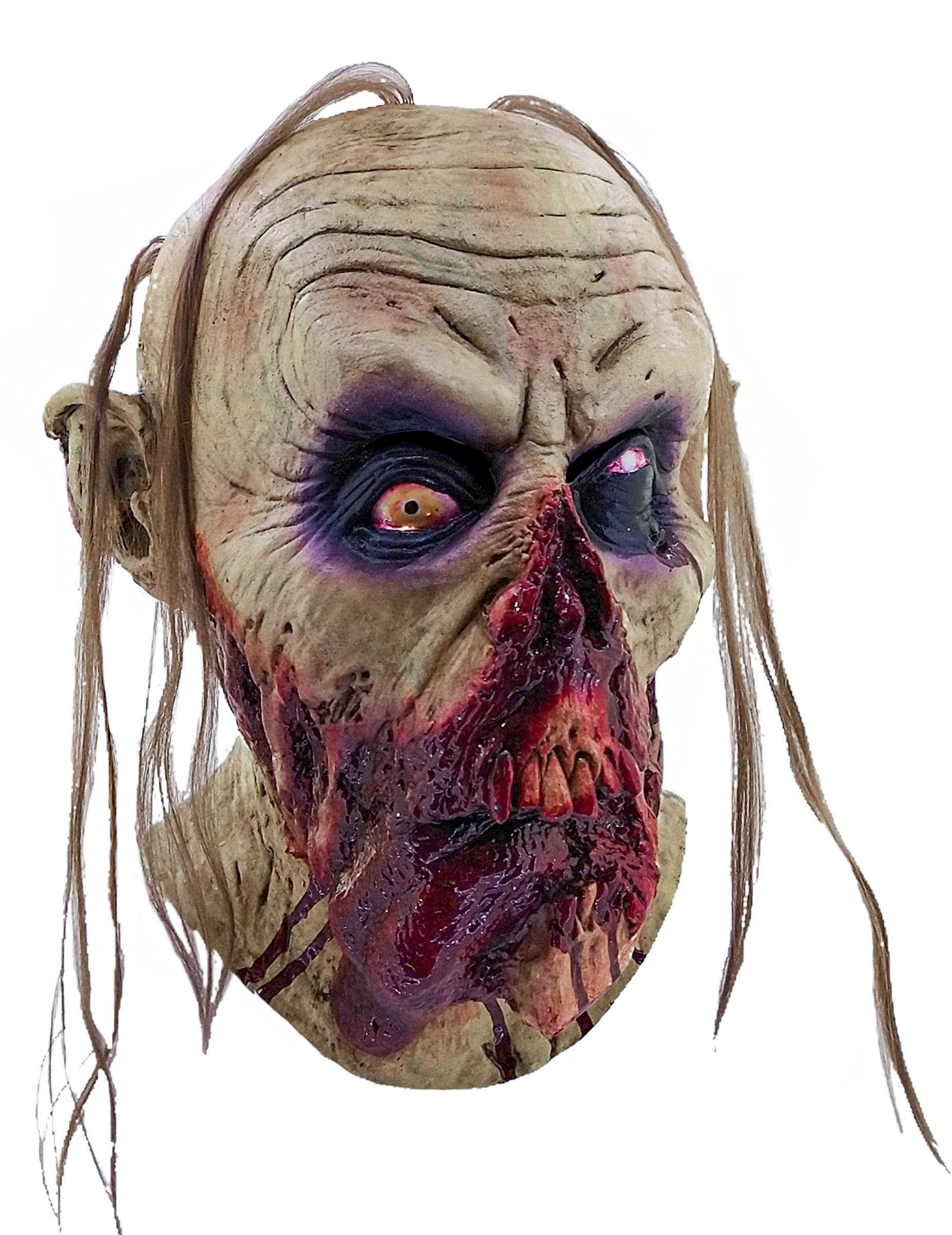 Masque zombie sanglant adulte halloween deguise toi - Halloween adulte ...