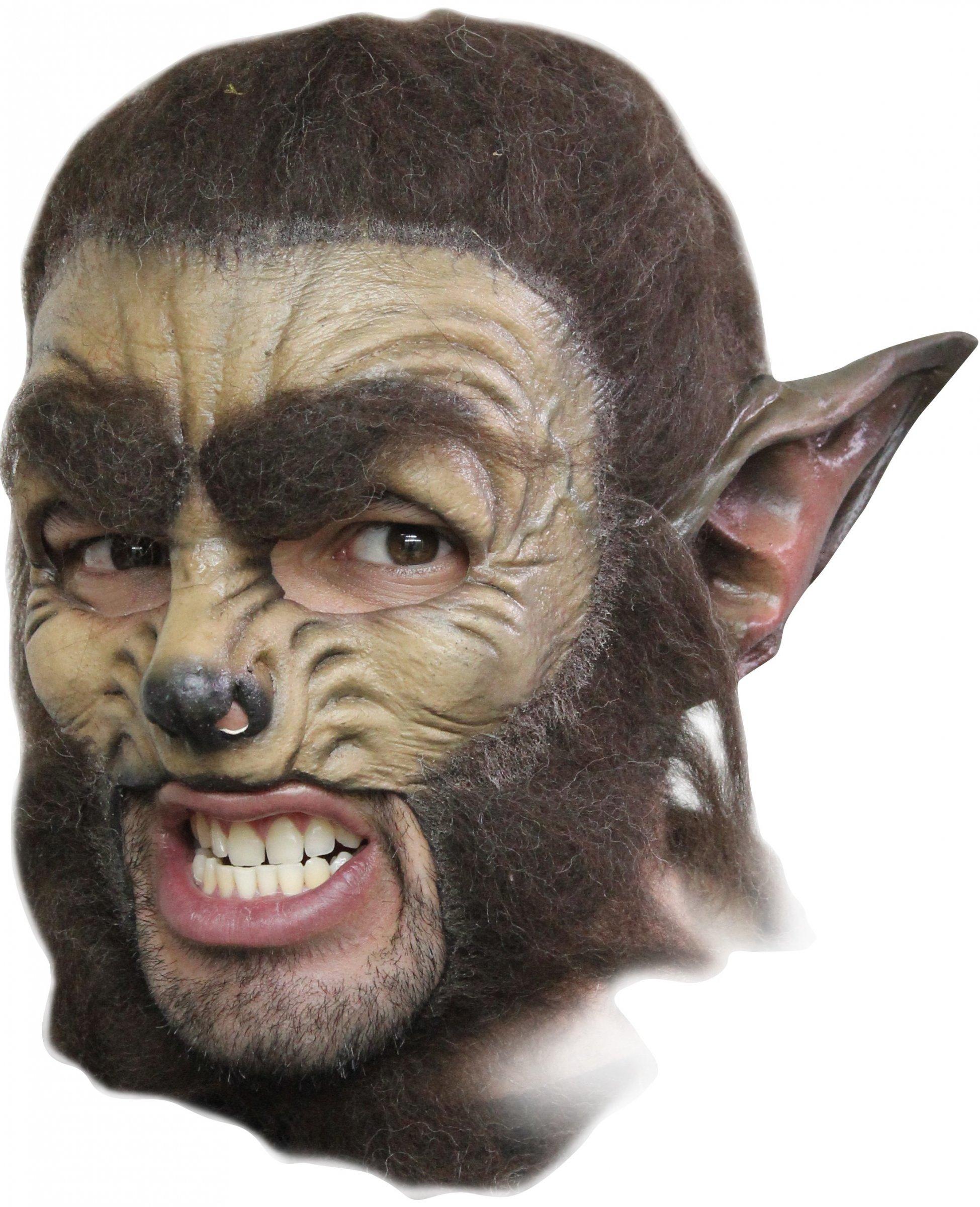 Maquillage halloween loup garou facile - Maquillage loup facile ...