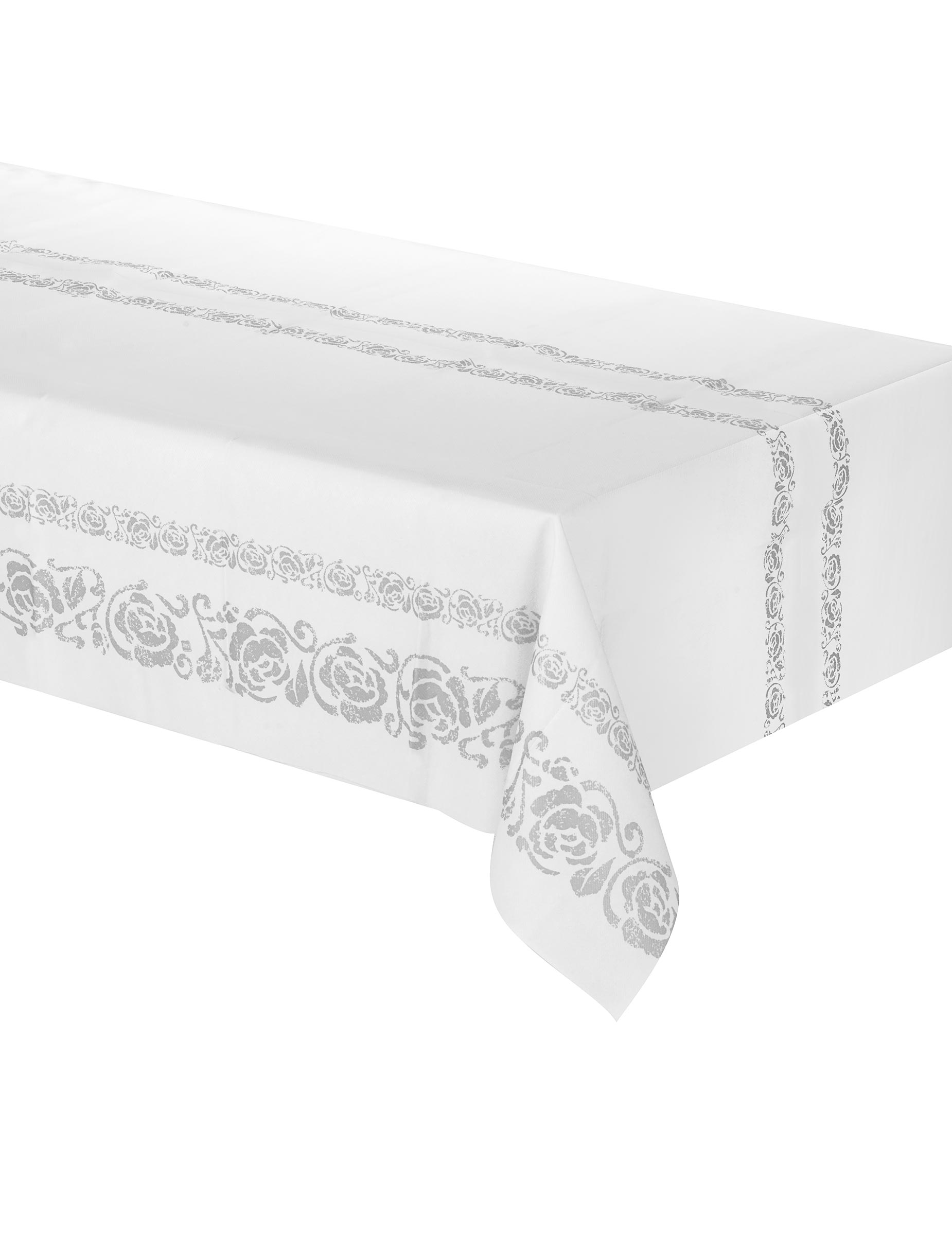 nappe arabesque argent e deguise toi achat de decoration animation. Black Bedroom Furniture Sets. Home Design Ideas