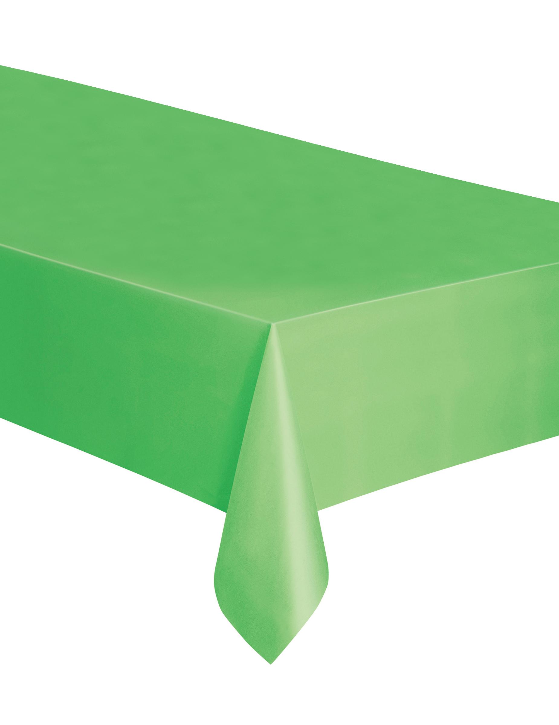 nappe rectangulaire en plastique vert citron. Black Bedroom Furniture Sets. Home Design Ideas