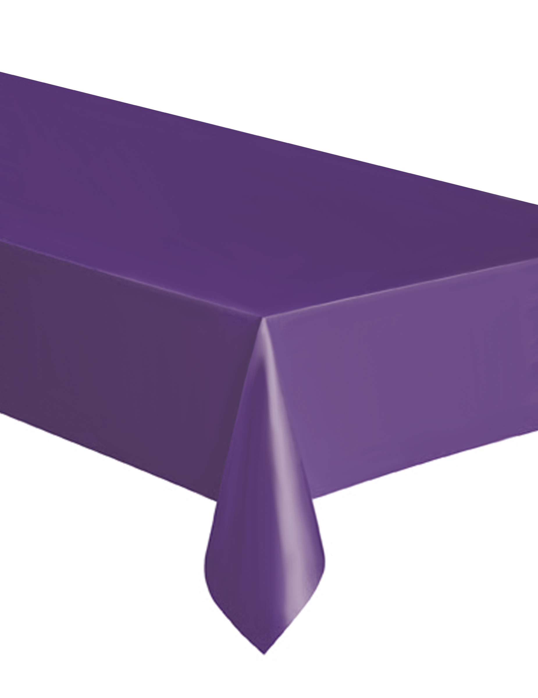 nappe rectangulaire violette en plastique. Black Bedroom Furniture Sets. Home Design Ideas