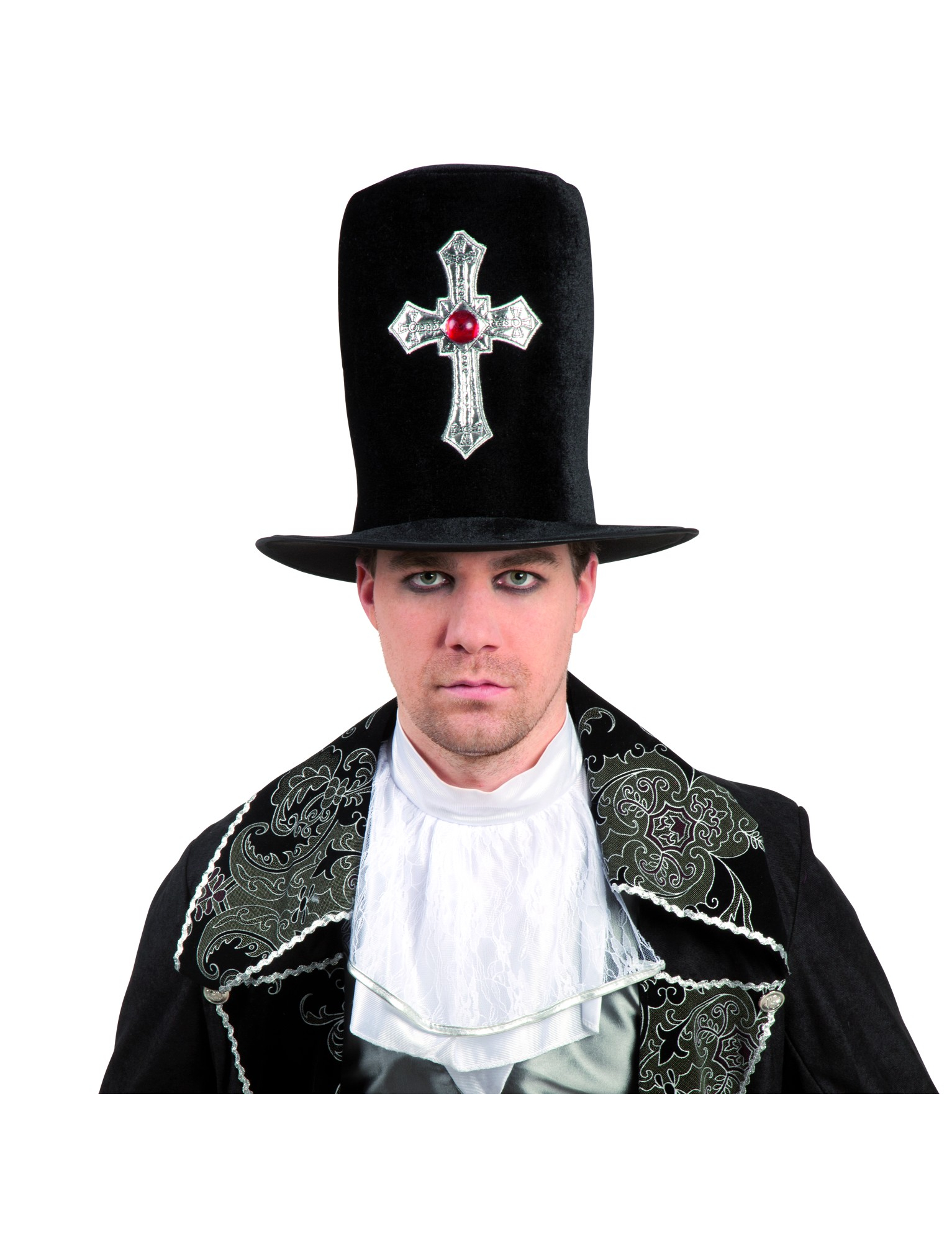 gothic hat. Black Bedroom Furniture Sets. Home Design Ideas