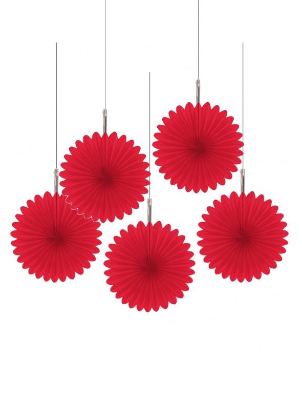 d corations suspendre rosaces rouges achat de decoration animation sur vegaoopro grossiste. Black Bedroom Furniture Sets. Home Design Ideas