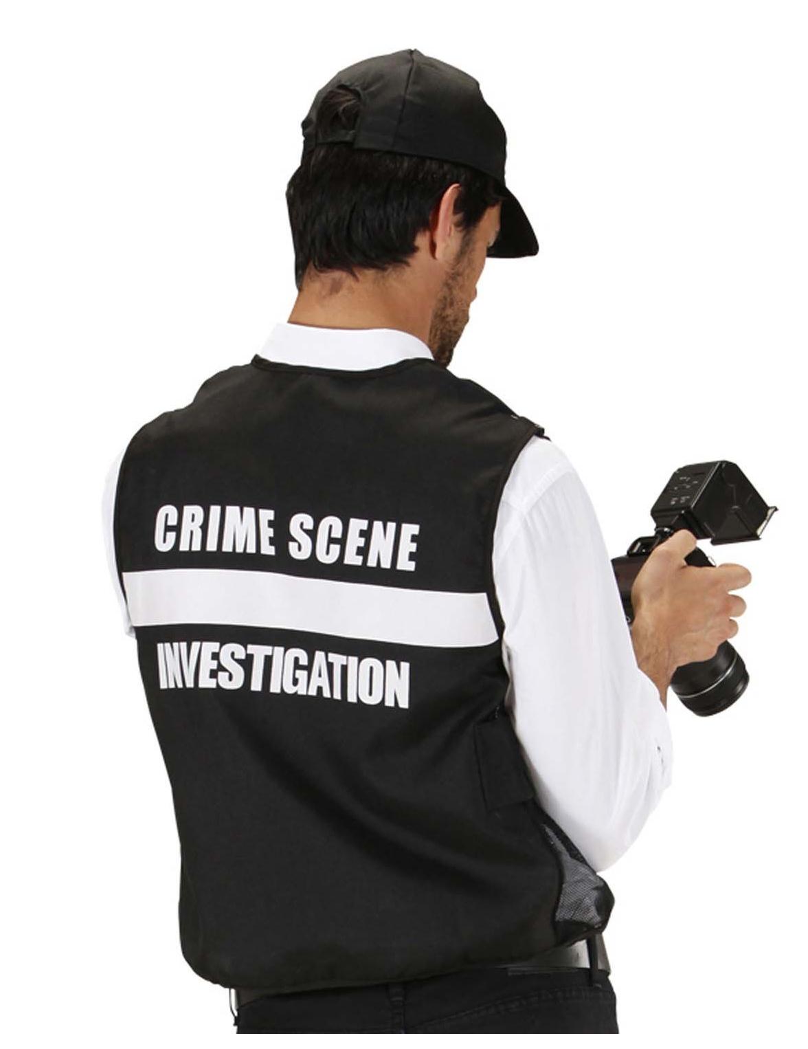 Disfraz de traje adulto Fbi