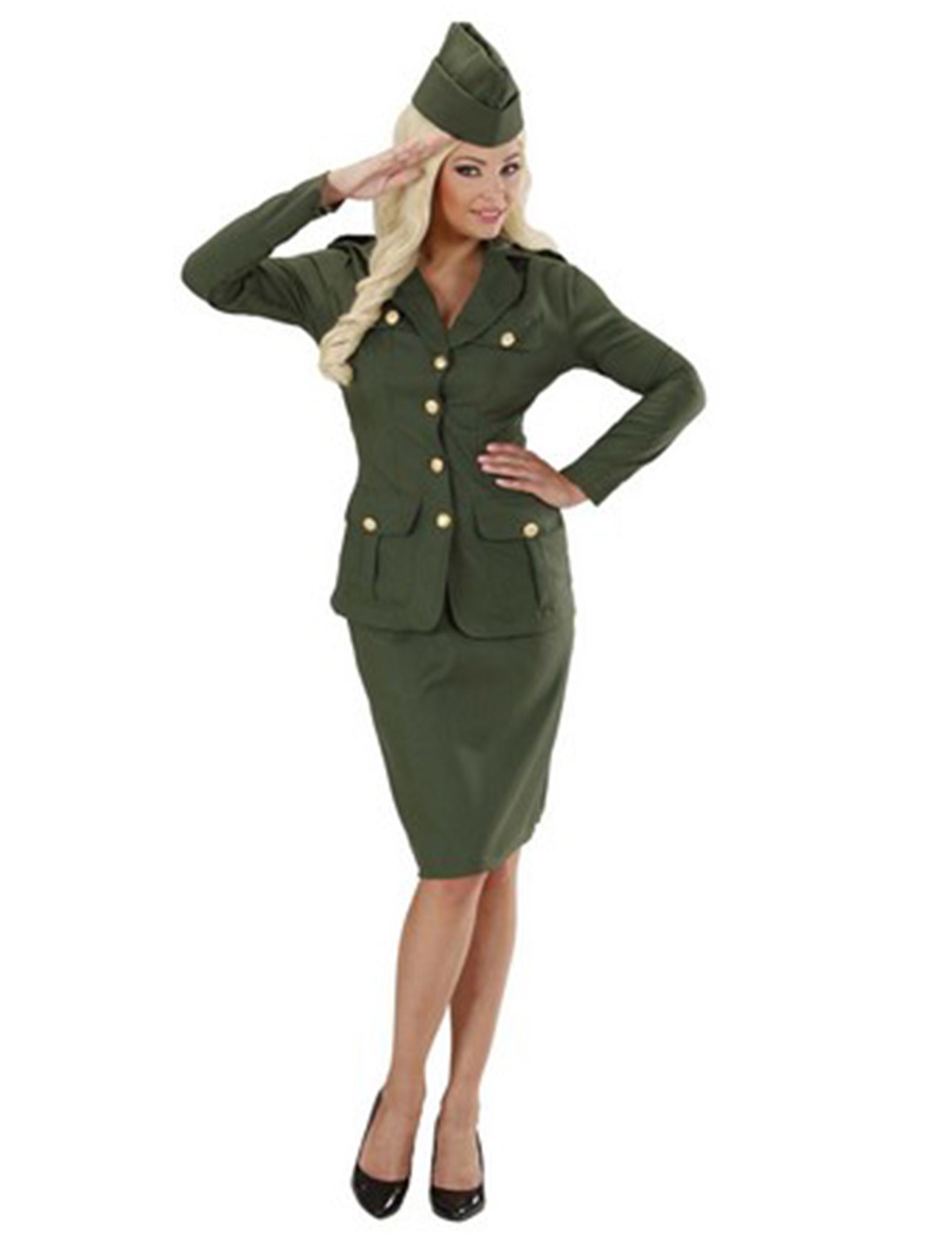 déguisement uniforme femme