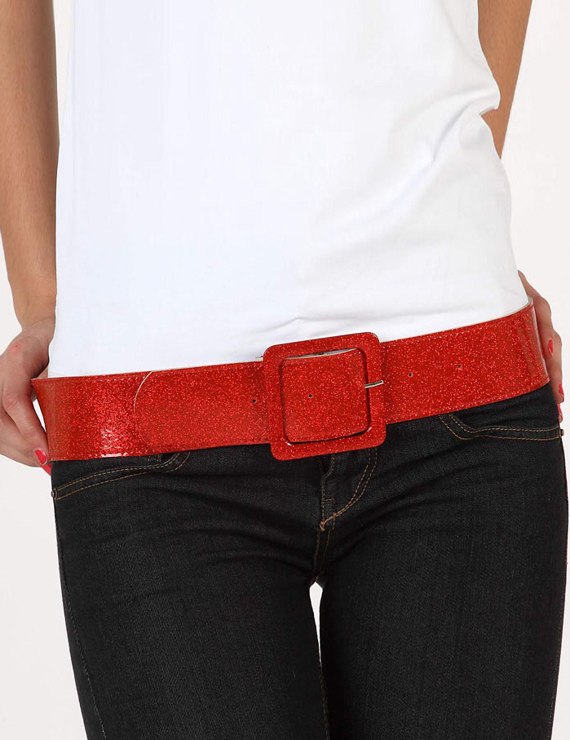 ceinture brillante rouge femme deguise toi achat de accessoires. Black Bedroom Furniture Sets. Home Design Ideas