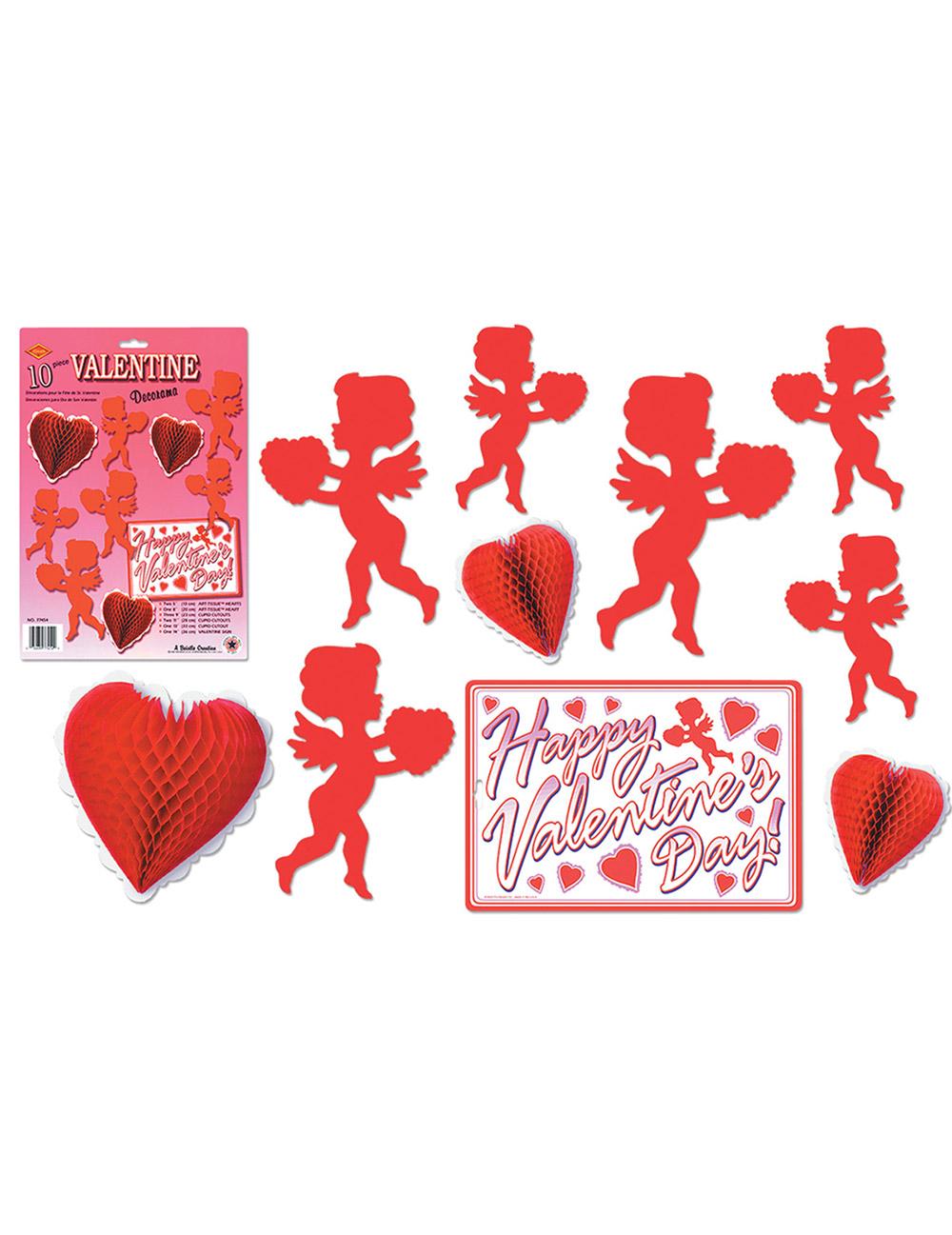 Decorazioni rosse san valentino - San valentino decorazioni ...