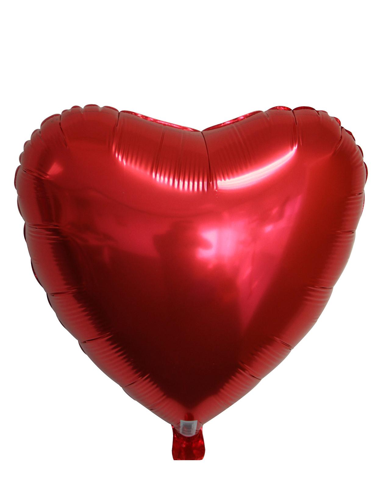 Ballon aluminium coeur rouge achat de decoration - Decoration coeur rouge ...