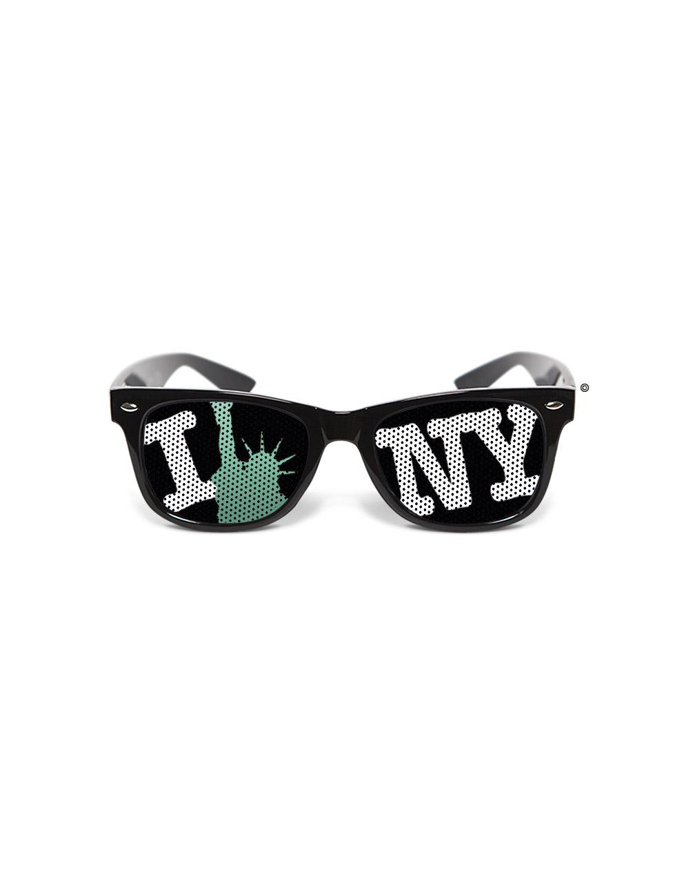 lunettes humoristiques new york achat de accessoires sur vegaoopro grossiste en d guisements. Black Bedroom Furniture Sets. Home Design Ideas