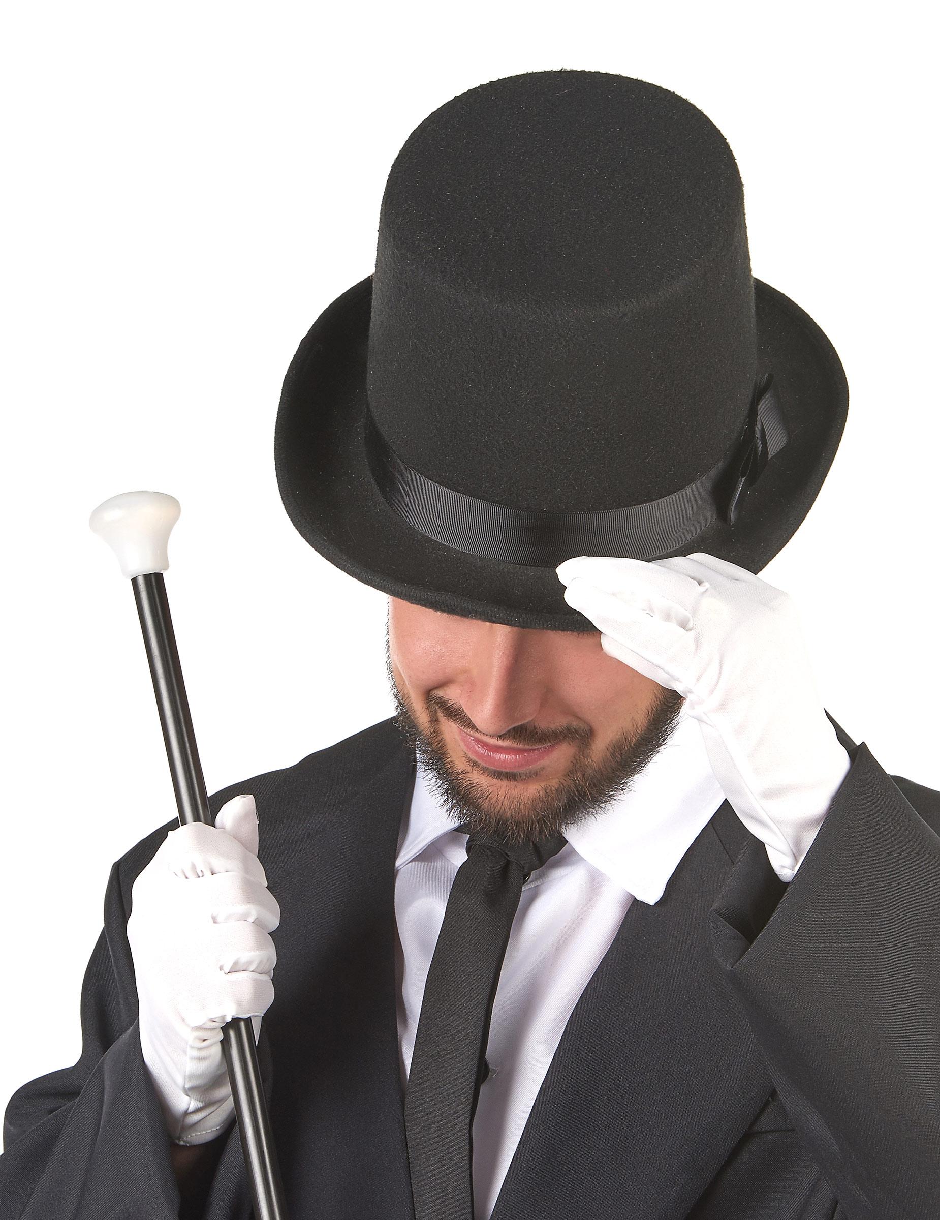 Chapeau haut de forme noir adulte deguise toi achat de chapeaux - Haut de forme pas cher ...