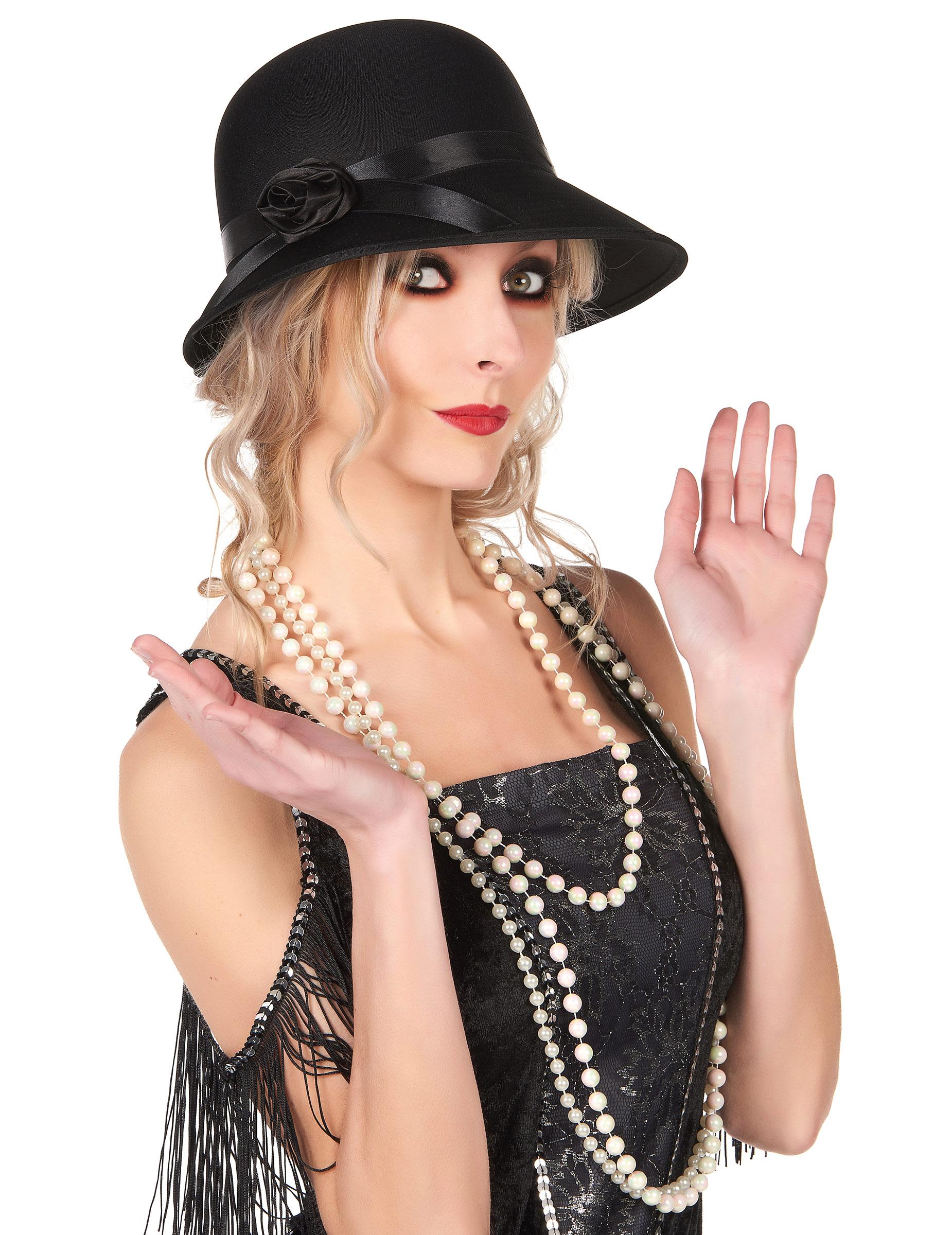 chapeau charleston ann e 20 femme deguise toi achat de chapeaux. Black Bedroom Furniture Sets. Home Design Ideas