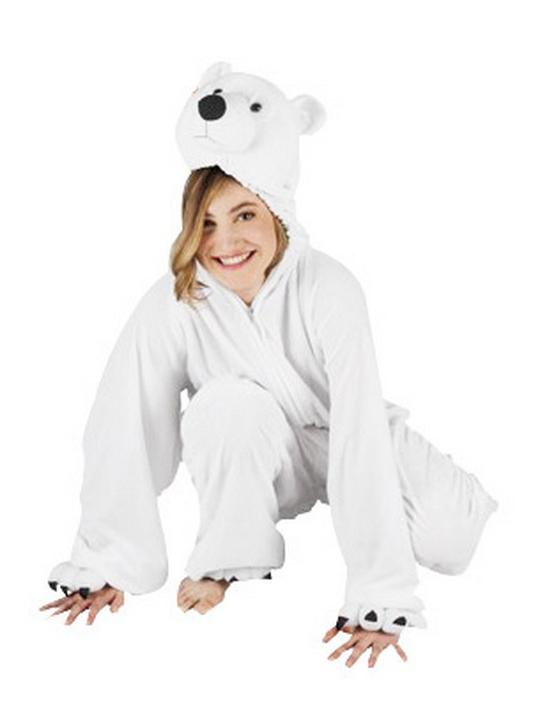 Como hacer un disfraz de oso polar - Imagui