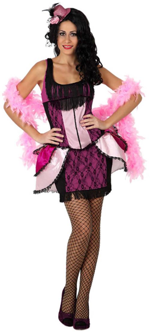 d guisement danseuse de cabaret rose femme achat de d guisements adultes sur vegaoopro. Black Bedroom Furniture Sets. Home Design Ideas