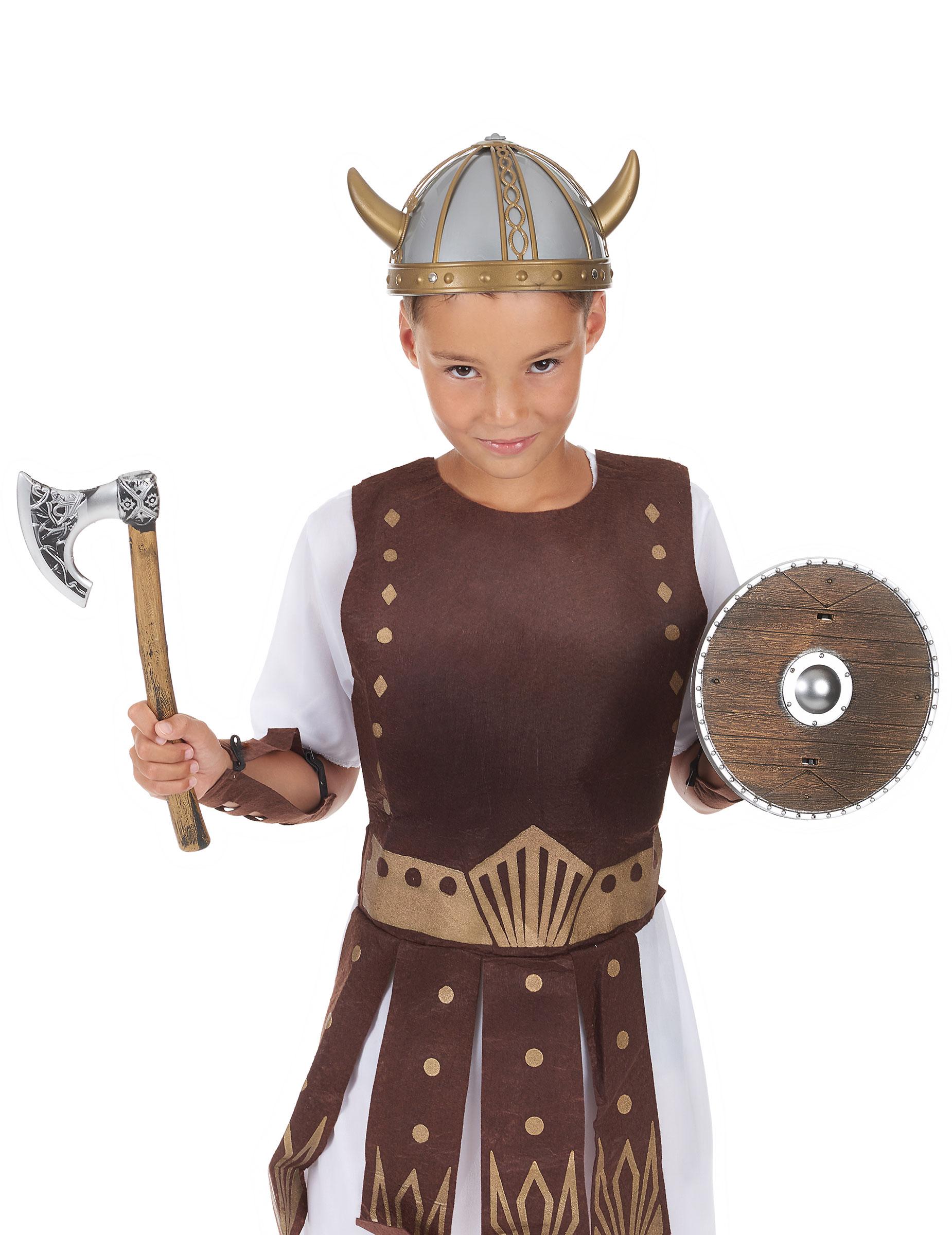 kit de viking enfant en plastique deguise toi achat de accessoires. Black Bedroom Furniture Sets. Home Design Ideas