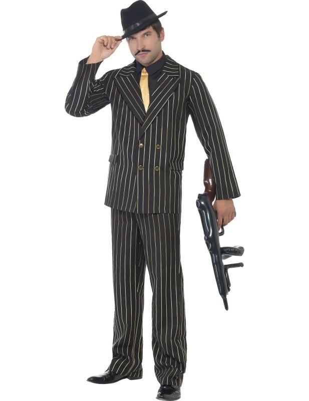 d guisement gangster charleston homme deguise toi achat de d guisements adultes. Black Bedroom Furniture Sets. Home Design Ideas