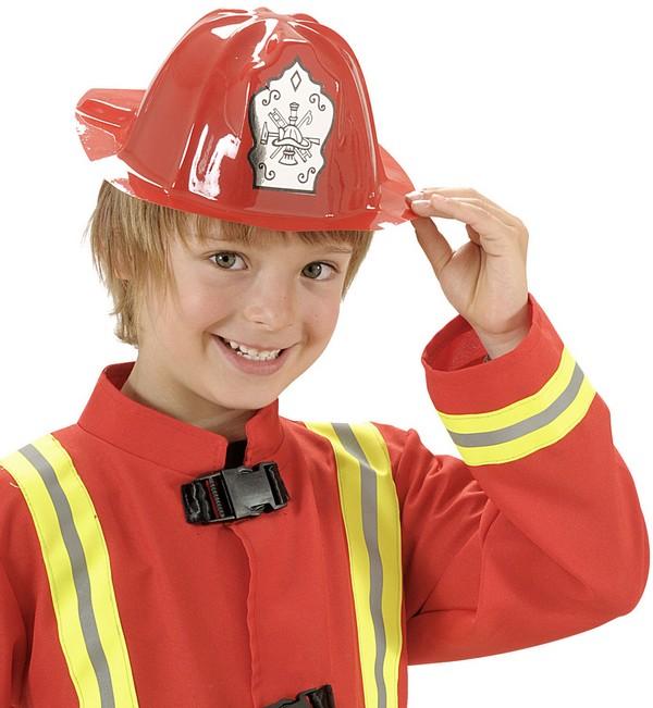 casque pompier rouge enfant deguise toi achat de chapeaux. Black Bedroom Furniture Sets. Home Design Ideas
