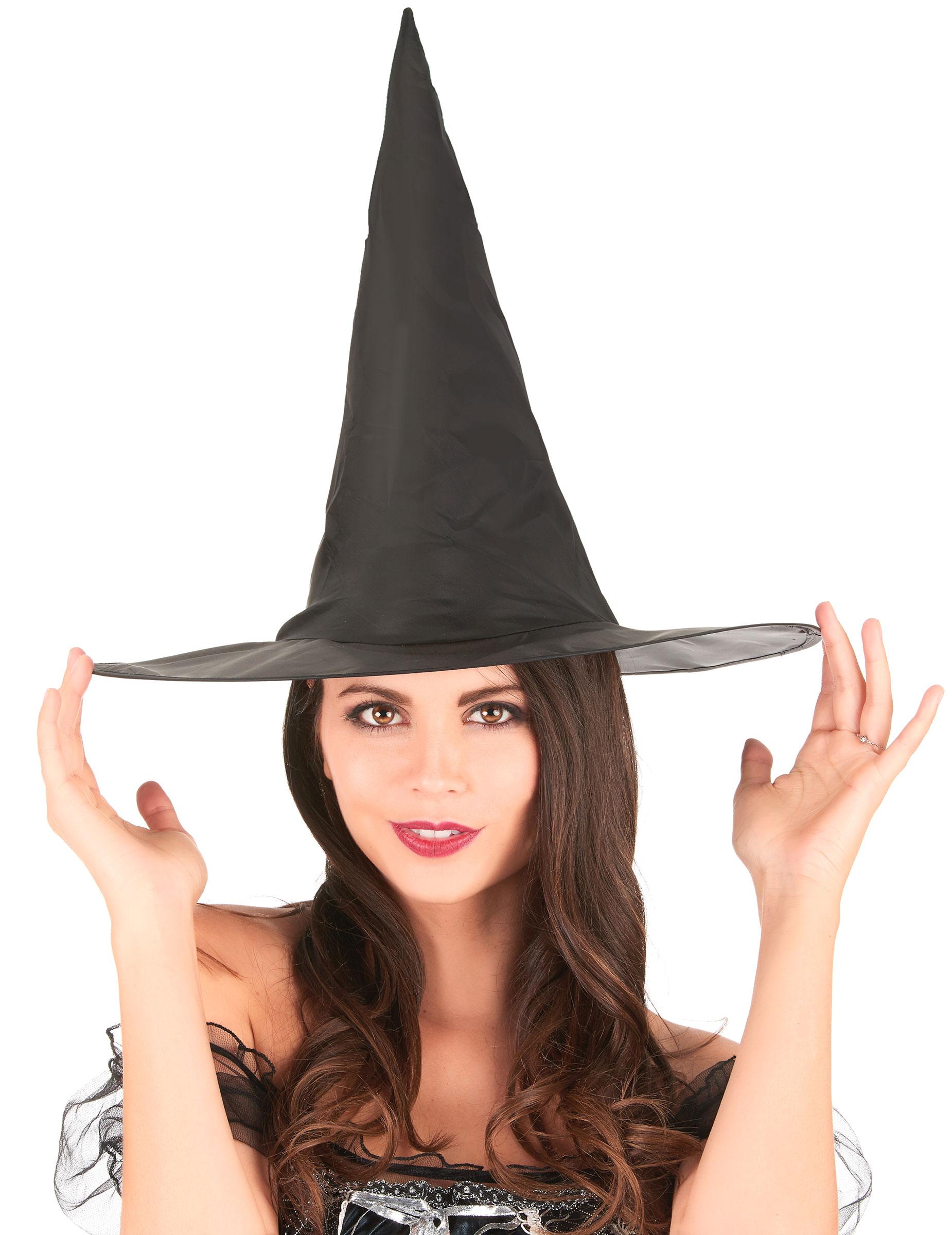 chapeau sorci re noir 35 cm halloween deguise toi achat de chapeaux. Black Bedroom Furniture Sets. Home Design Ideas