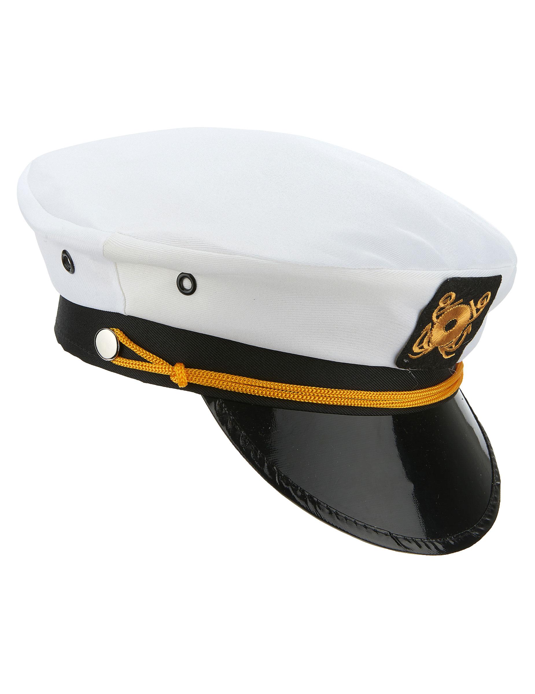 casquette capitaine marin deguise toi achat de chapeaux. Black Bedroom Furniture Sets. Home Design Ideas