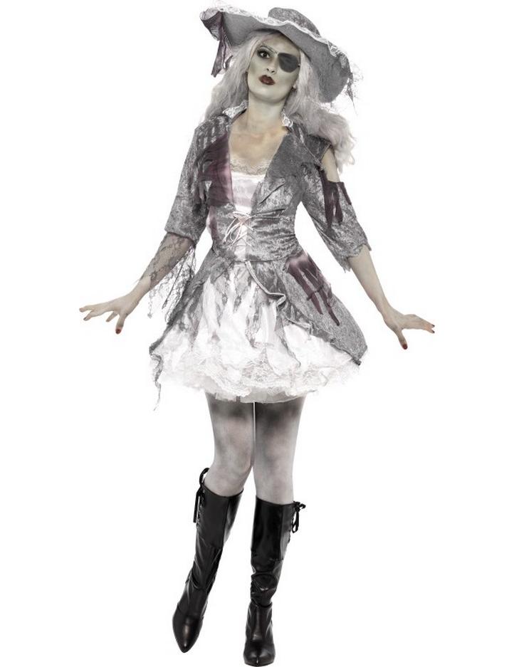 D guisement fant me pirate femme halloween deguise toi - Pirate fantome ...