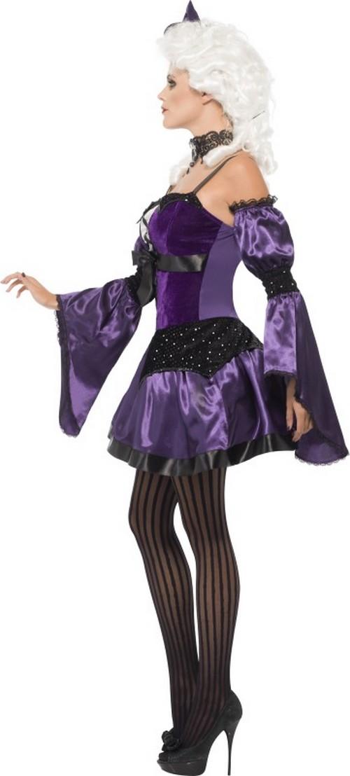 halloween lila barock kost m f r damen kost me f r. Black Bedroom Furniture Sets. Home Design Ideas