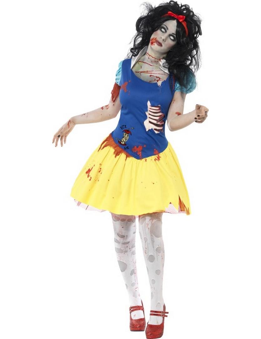 maquillage zombie princesse