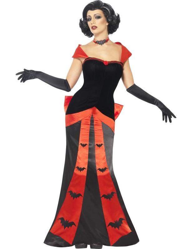 Vestito da vampiro per donna halloween - Costume vampire femme ...