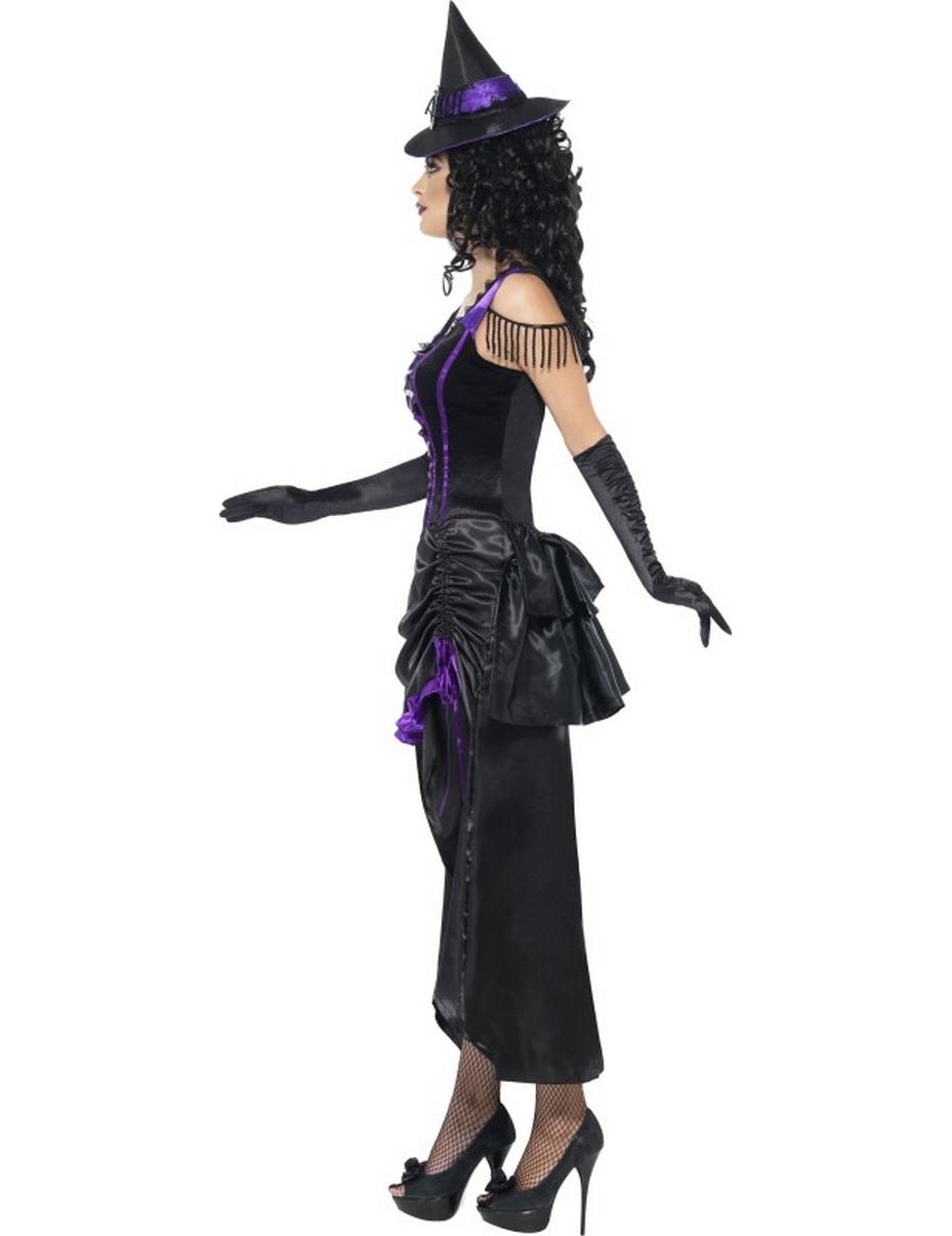 d guisement sorci re violette sexy femme halloween deguise toi achat de d guisements adultes. Black Bedroom Furniture Sets. Home Design Ideas