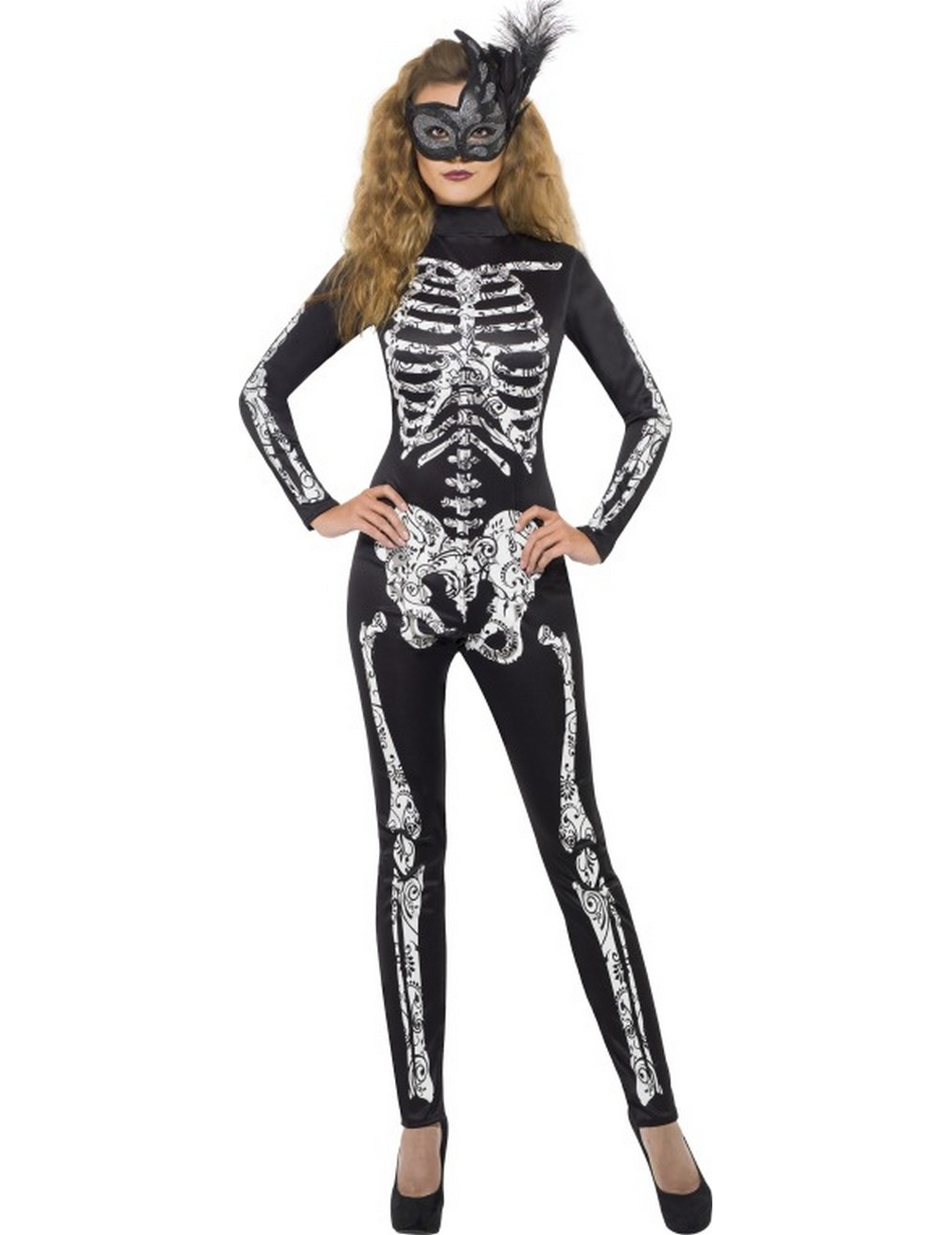Fancy Dress Skeleton Costumes Halloween Costumes Skeletons Of The Day Halloween Ideas