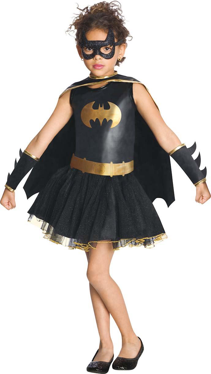 batgirl kost m mit pailletten f r m dchen kost me f r. Black Bedroom Furniture Sets. Home Design Ideas