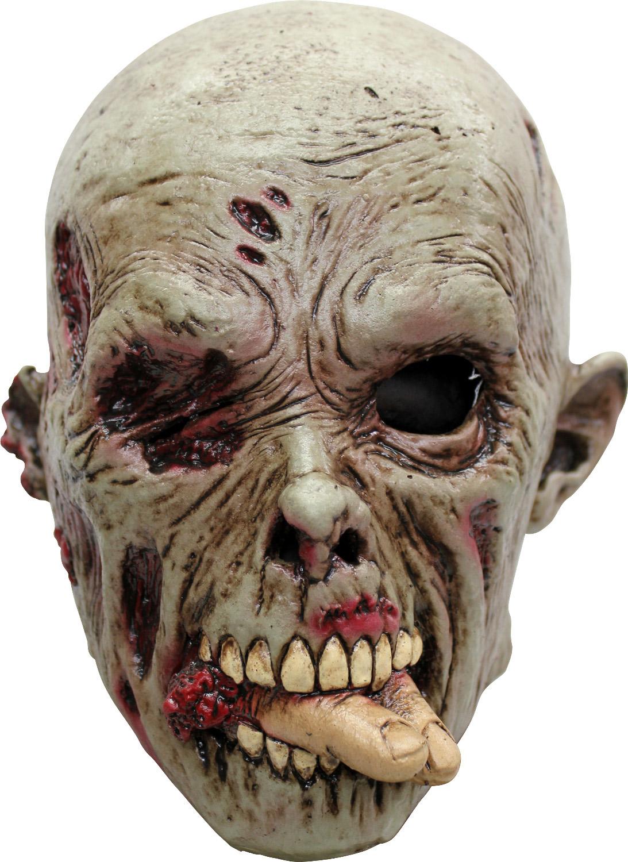 Masque zombie mangeur de chair adulte halloween deguise - Masque qui fait peur a imprimer ...