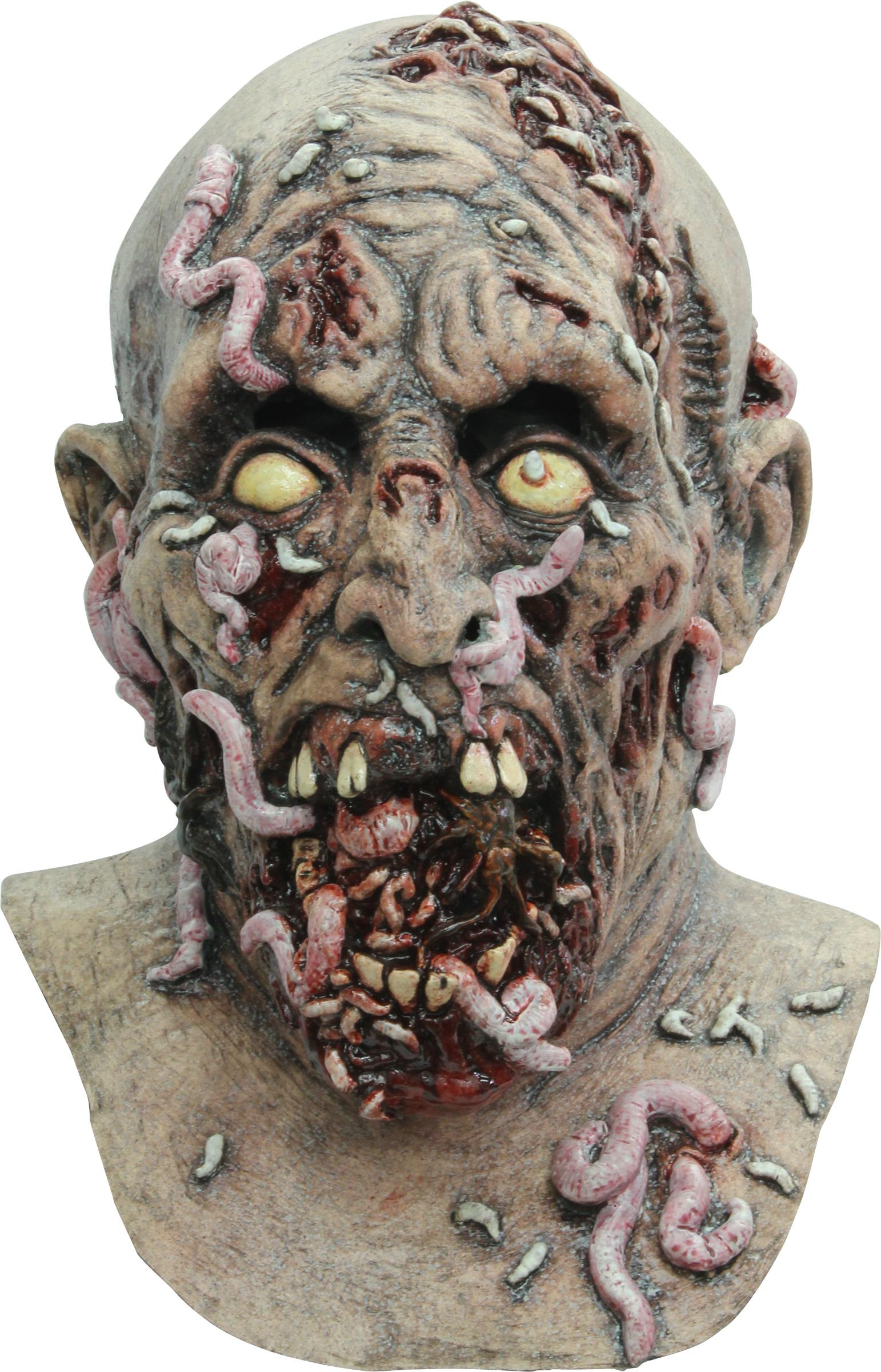 halloween zombie masker voor volwassenen. Black Bedroom Furniture Sets. Home Design Ideas