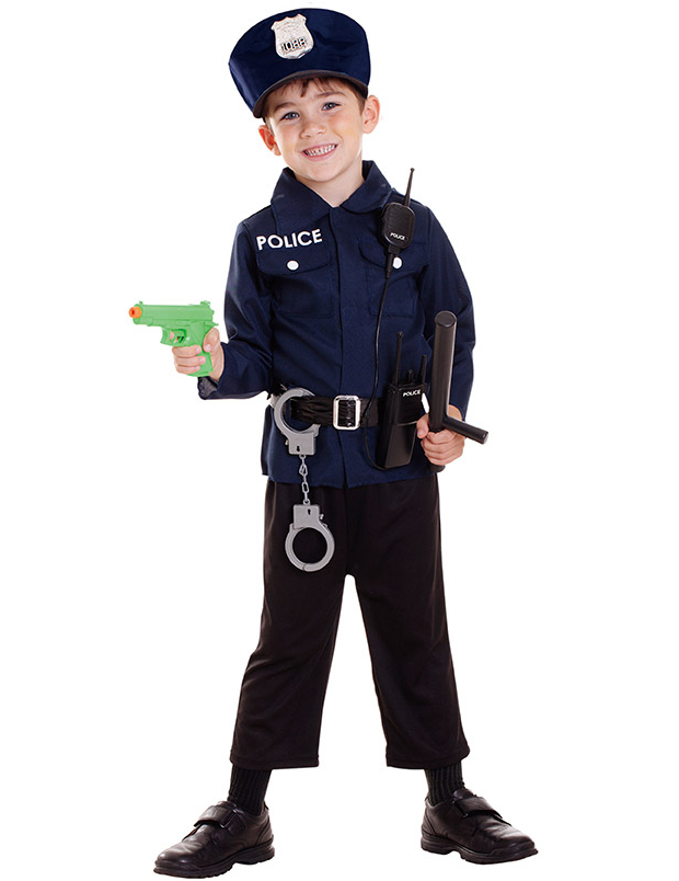 déguisement policier garçon 6 ans