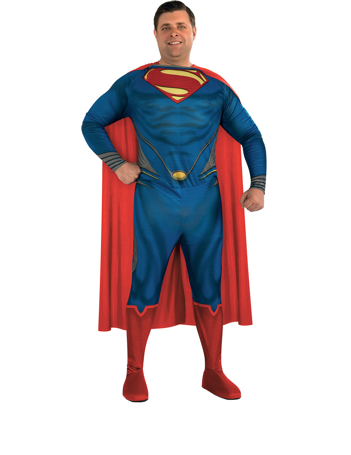 d guisement superman man of steel classique homme grande taille deguise toi achat de. Black Bedroom Furniture Sets. Home Design Ideas