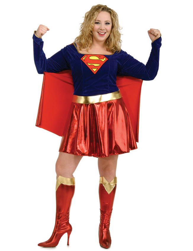 d guisement supergirl grande taille femme deguise toi. Black Bedroom Furniture Sets. Home Design Ideas
