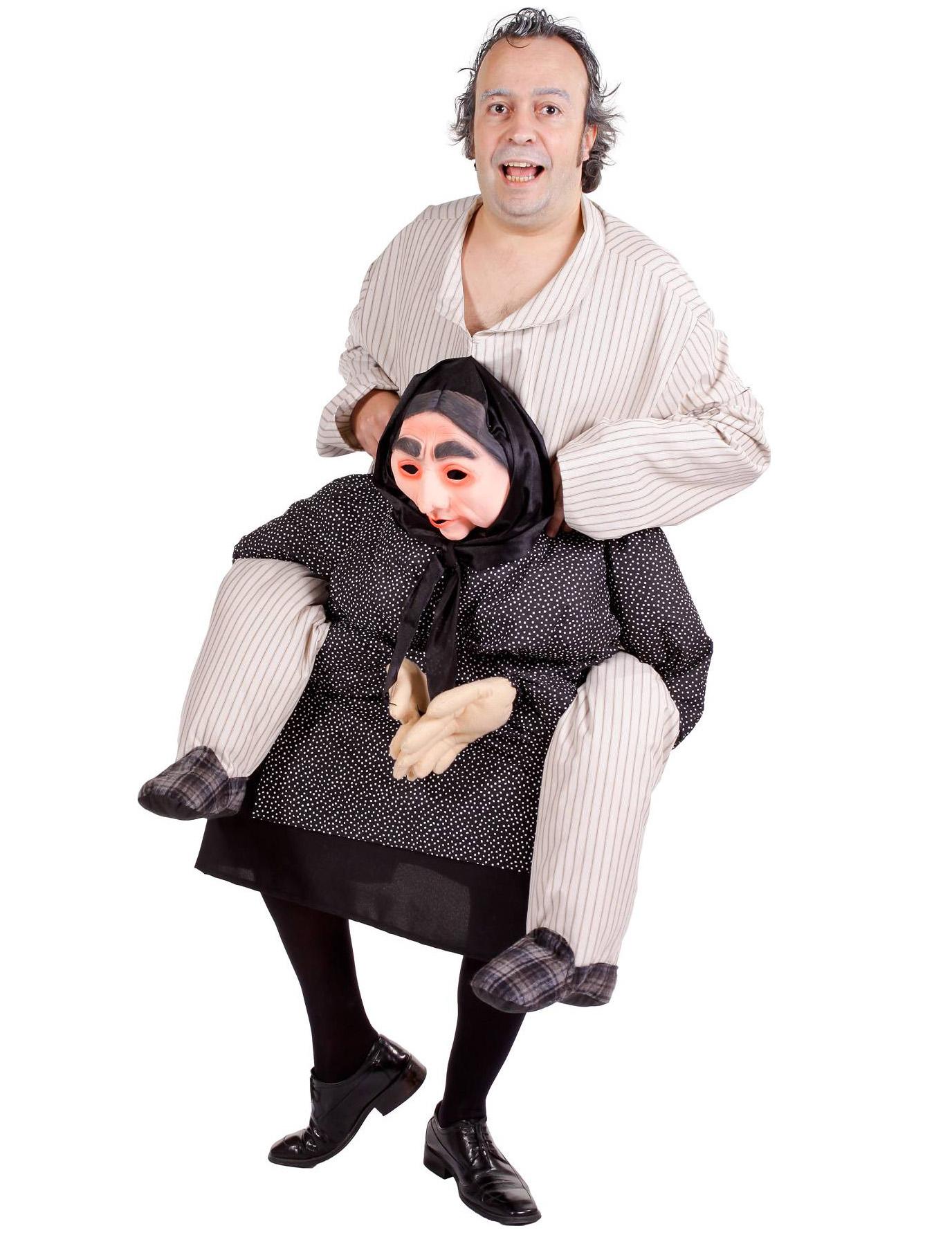 d guisement humoristique homme dos de grand m re deguise toi achat de d guisements adultes. Black Bedroom Furniture Sets. Home Design Ideas