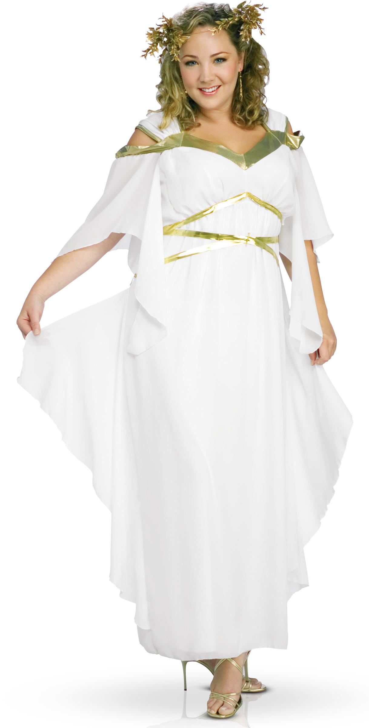romeinse godin tuniek voor dames volwassenen kostuums en goedkope carnavalskleding vegaoo. Black Bedroom Furniture Sets. Home Design Ideas