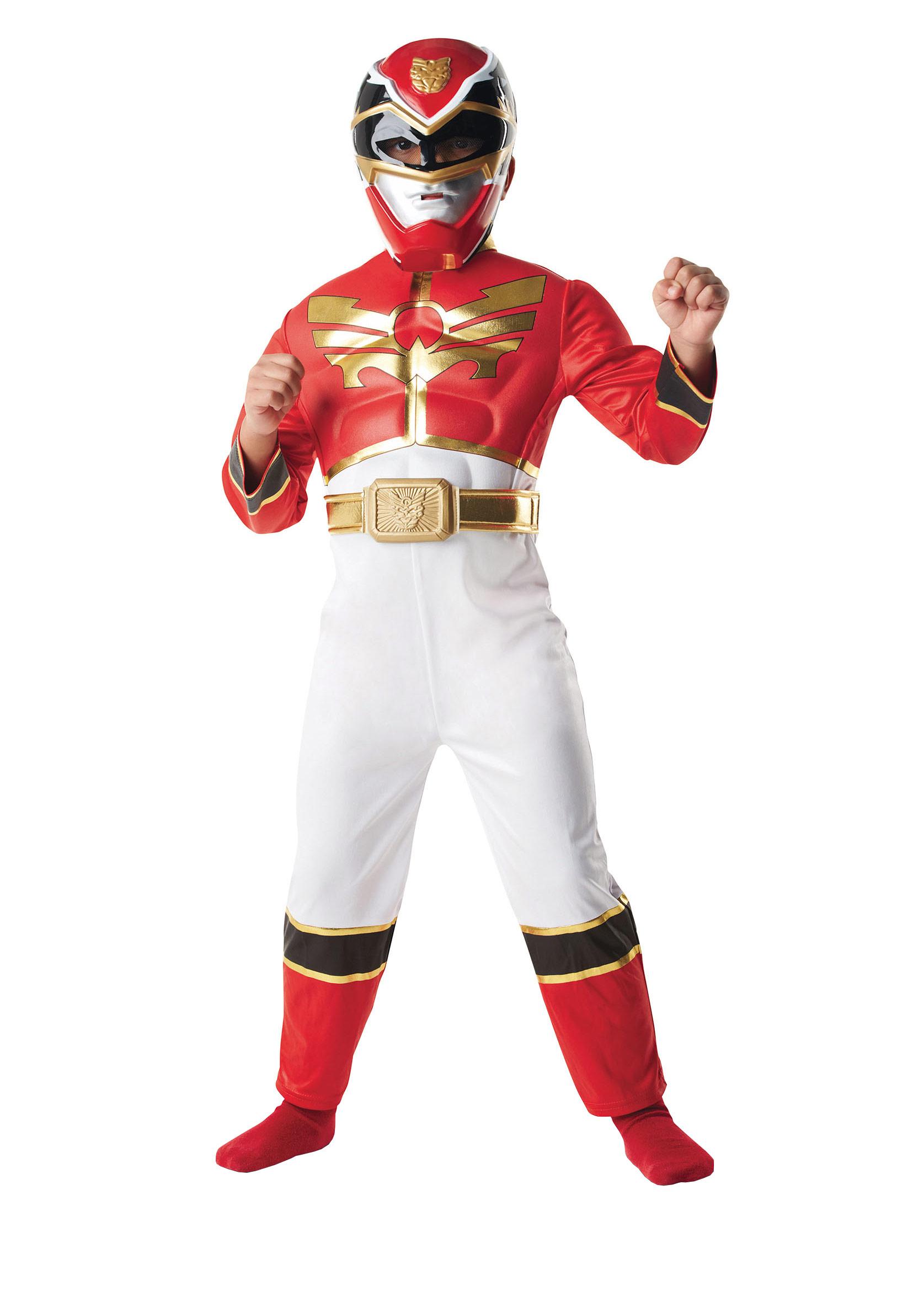 D guisement rembourr power rangers megaforce rouge gar on deguise toi achat de d guisements - Foto de garcon ...