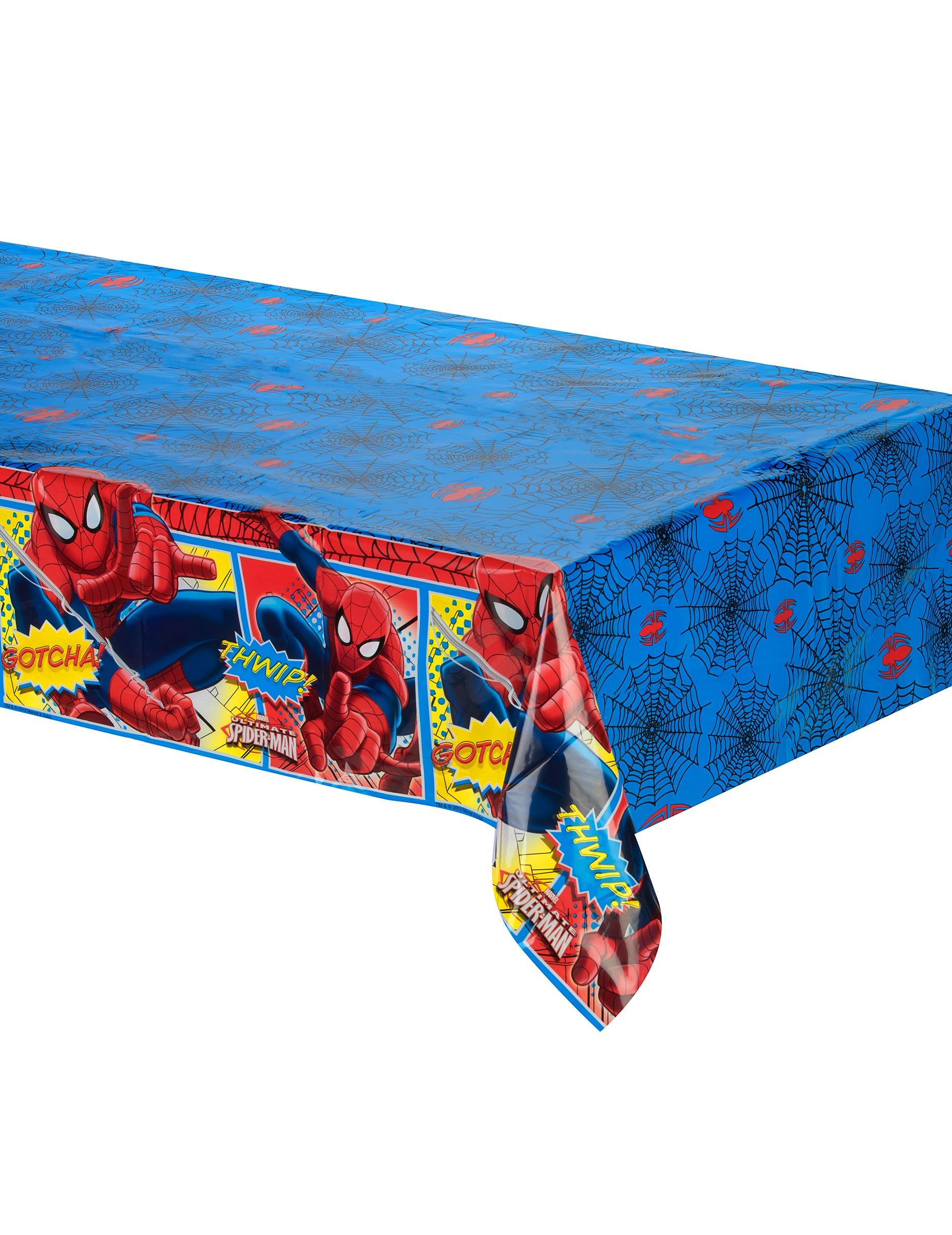 Nappe plastique spiderman deguise toi achat de - Nappe cuisine plastique ...