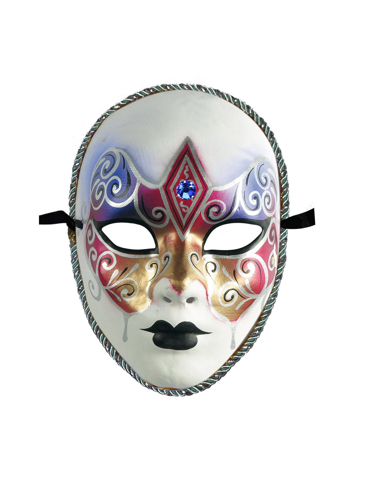 Masque v nitien rouge dor adulte deguise toi achat de - Masque venitien a imprimer ...