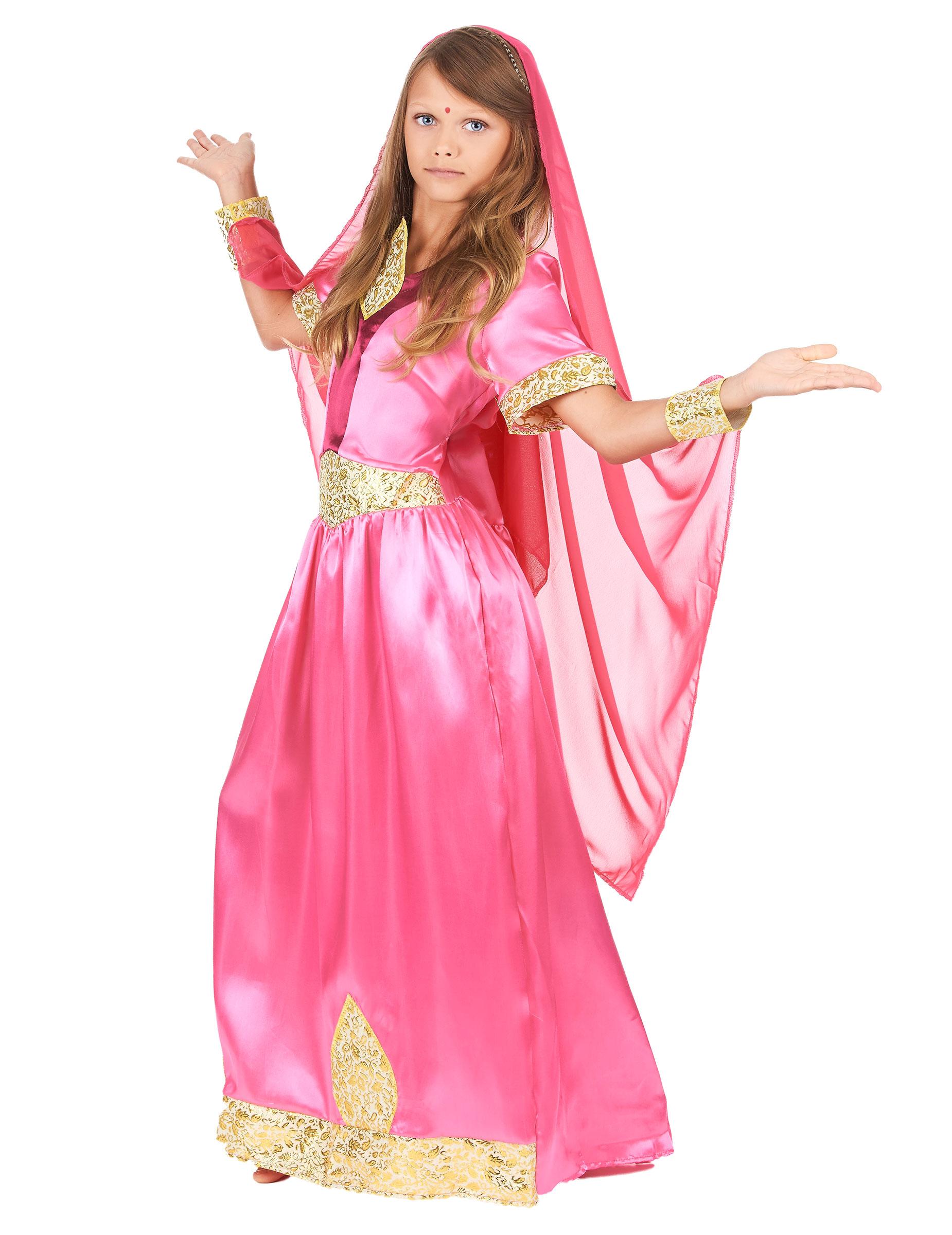 D guisement princesse bollywood rose fille achat de d guisements enfants sur vegaoopro - Deguisement fille princesse ...