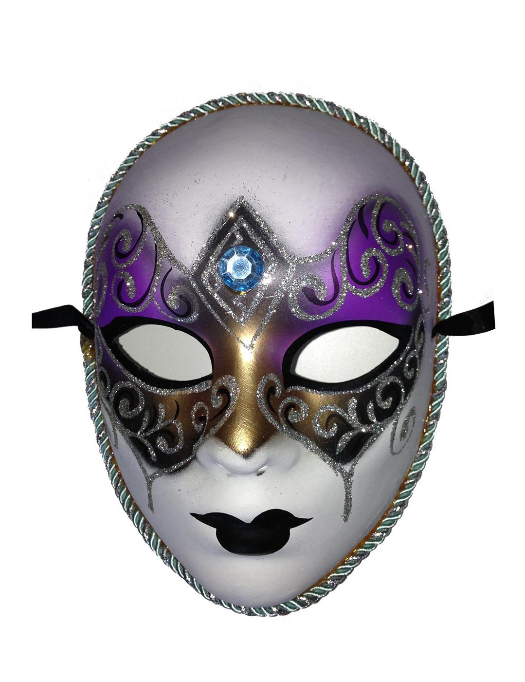 Masque v nitien diamant bleu adulte deguise toi achat - Masque venitien decoration ...