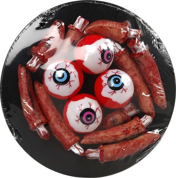 Plateau yeux halloween deguise toi achat de decoration for Decoration yeux