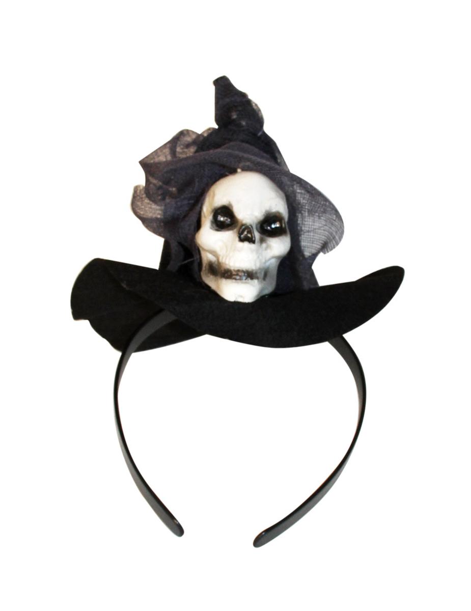 Mini chapeau sorci re femme halloween deguise toi achat de chapeaux - Deguisetoi fr halloween ...