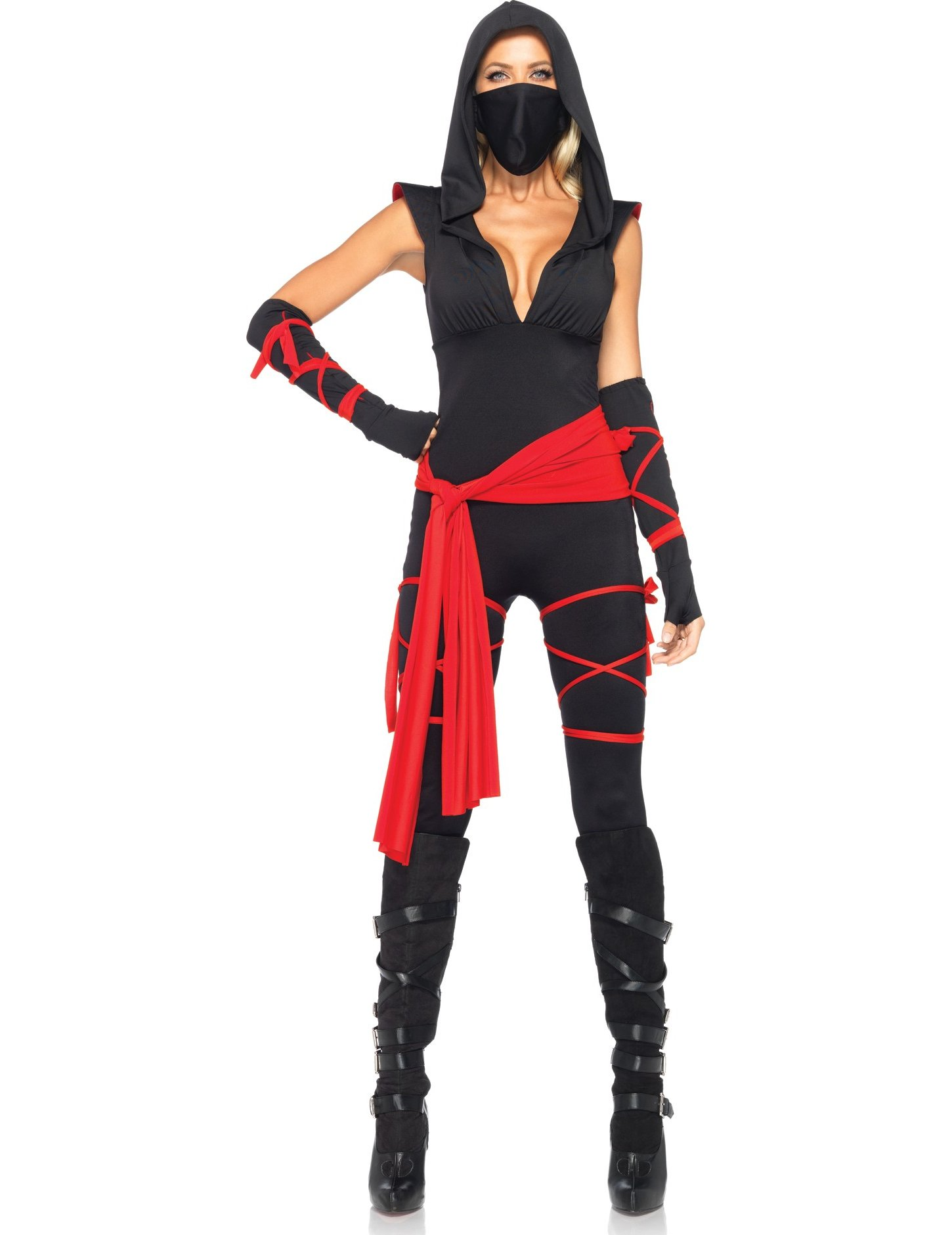 maquillage femme ninja