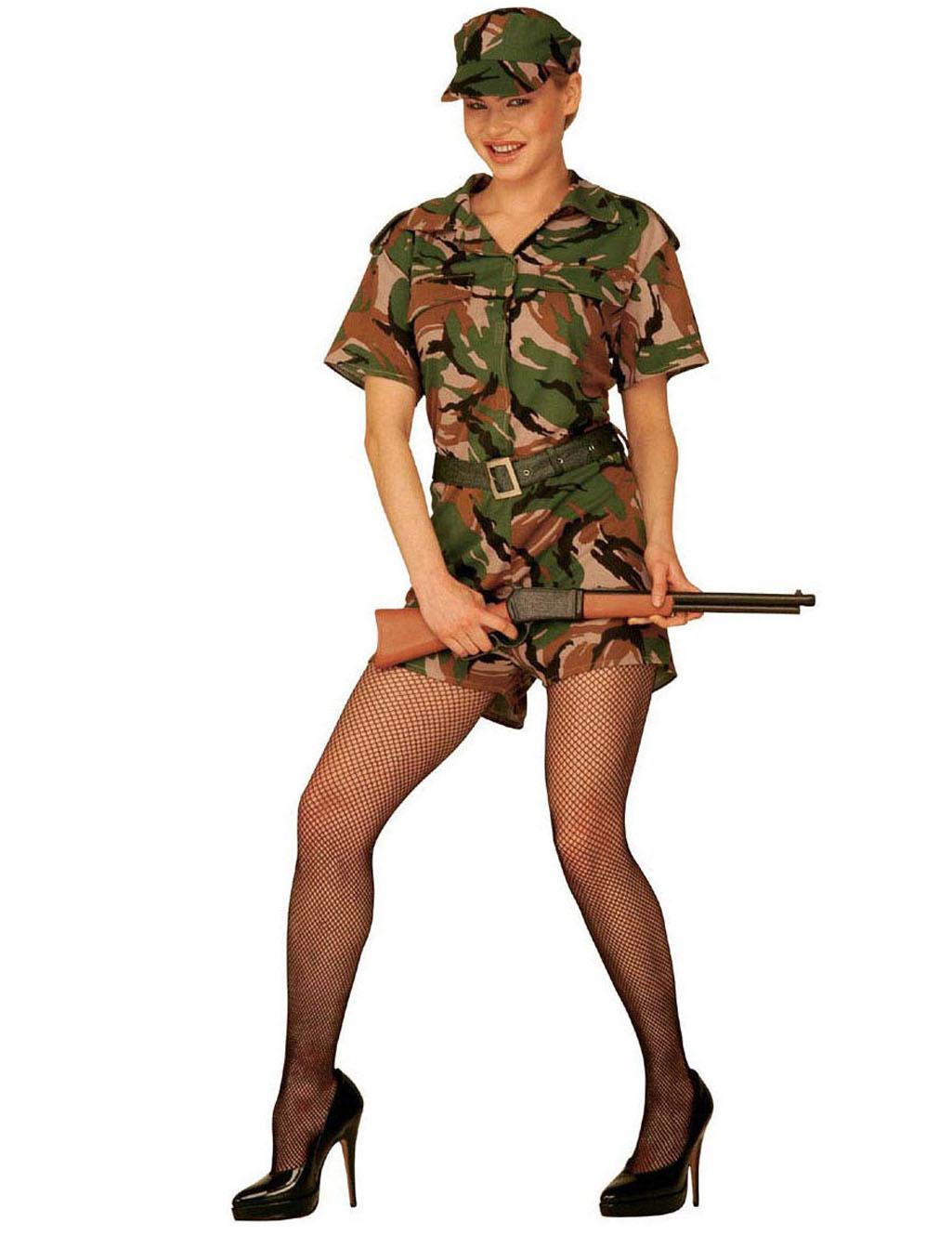 Déguisement militaire femme : Deguise-toi, achat de ... Gi Jane Costume
