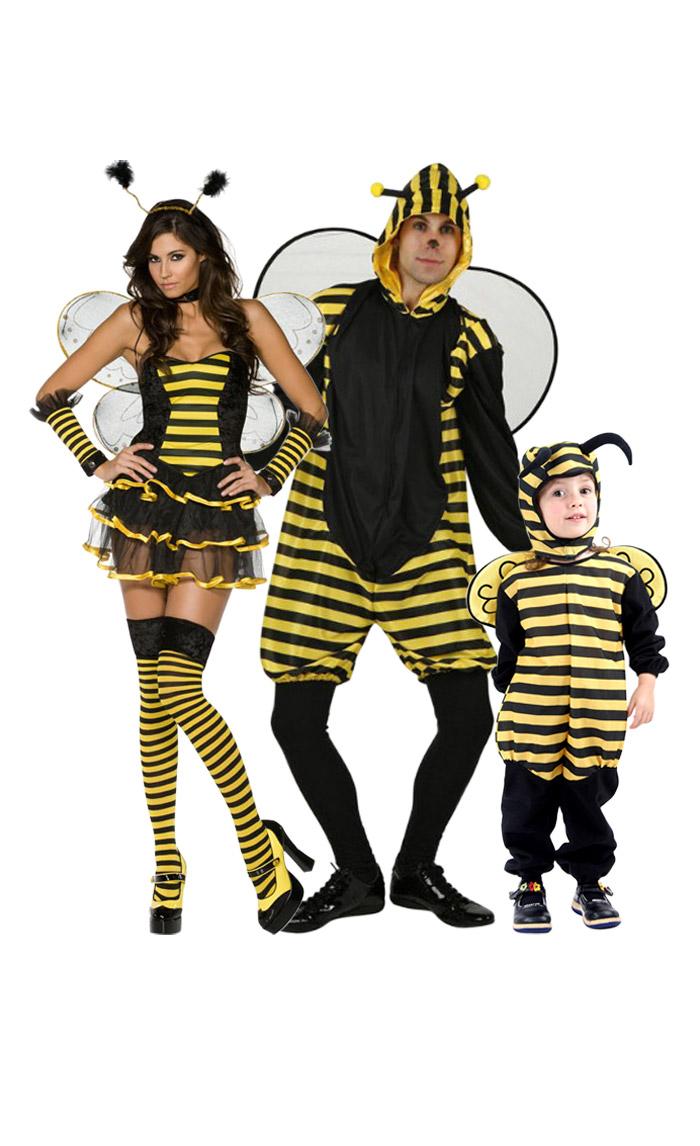 Deguisement famille abeille